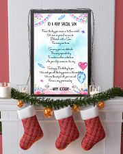 SON - TO A VERY SPECIAL 11x17 Poster lifestyle-holiday-poster-4