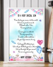 SON - TO A VERY SPECIAL 11x17 Poster lifestyle-poster-4