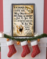TO MY DAUGHTER - I LOVE YOU - Swim POSTER 11x17 Poster lifestyle-holiday-poster-4