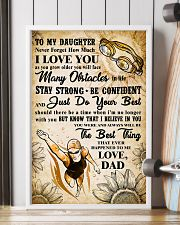 TO MY DAUGHTER - I LOVE YOU - Swim POSTER 11x17 Poster lifestyle-poster-4