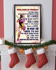 Take care of yourself - SOFTBALL 11x17 Poster lifestyle-holiday-poster-4