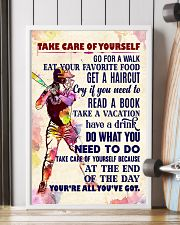Take care of yourself - SOFTBALL 11x17 Poster lifestyle-poster-4