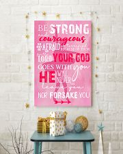 BE STRONG COURAGEOUS DO NOT BE AFRAID DANCE POSTER 16x24 Poster lifestyle-holiday-poster-3
