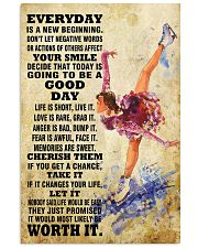 skating EVERYDAY IS A NEW 11x17 Poster front