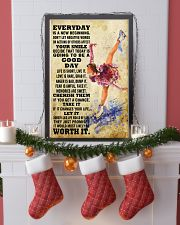 skating EVERYDAY IS A NEW 11x17 Poster lifestyle-holiday-poster-4