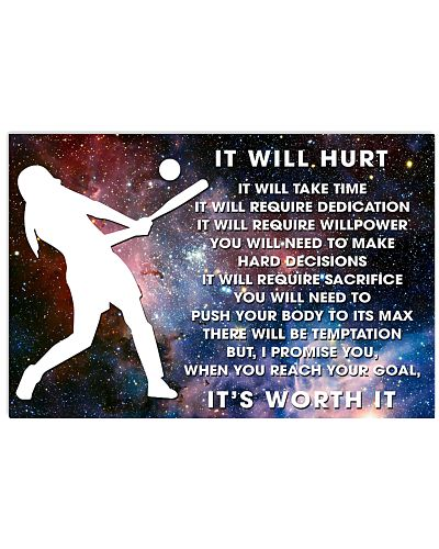 it will hurt softball