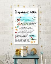 TO MY GYMNASTICS DAUGHTER - I SOMETIMES WISH 11x17 Poster lifestyle-holiday-poster-3