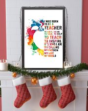 TEACHER- I WAS BORN 11x17 Poster lifestyle-holiday-poster-4