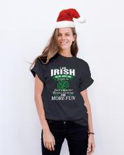 i am irish Classic T-Shirt lifestyle-holiday-crewneck-front-1