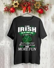 i am irish Classic T-Shirt lifestyle-holiday-crewneck-front-2