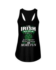 i am irish Ladies Flowy Tank thumbnail