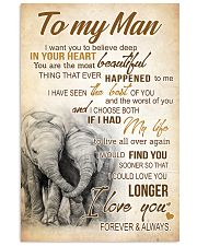 ELEPHANT- TO MY MAN I WANT YOU TO BELIVE DEEP POST 11x17 Poster front