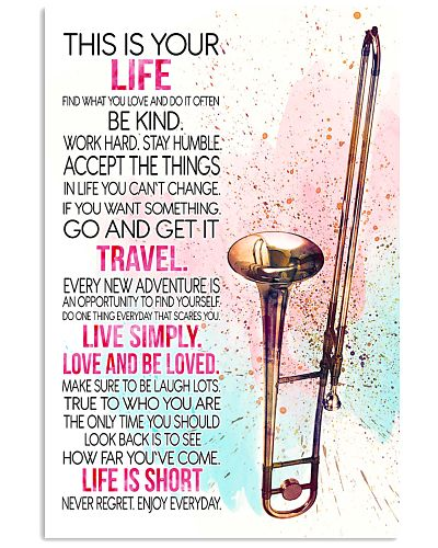 trombone this is your life poster- LQT