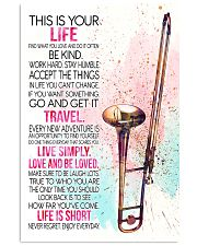 trombone this is your life poster- LQT 16x24 Poster front