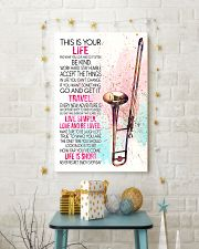trombone this is your life poster- LQT 16x24 Poster lifestyle-holiday-poster-3