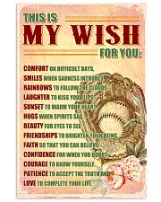 SOFTBALL - THIS IS MY WISH FOR YOU 11x17 Poster front