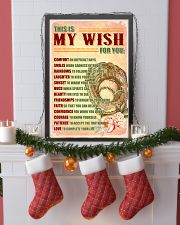 SOFTBALL - THIS IS MY WISH FOR YOU 11x17 Poster lifestyle-holiday-poster-4