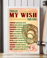 SOFTBALL - THIS IS MY WISH FOR YOU 16x24 Poster lifestyle-poster-4