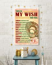 SOFTBALL - THIS IS MY WISH FOR YOU 24x36 Poster lifestyle-holiday-poster-3