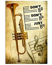 Trumpet - Don't don't Just SKY poster 11x17 Poster front