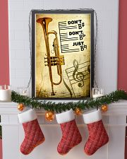Trumpet - Don't don't Just SKY poster 11x17 Poster lifestyle-holiday-poster-4