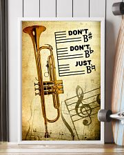 Trumpet - Don't don't Just SKY poster 11x17 Poster lifestyle-poster-4