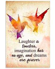 Hummingbird - Laughter is timeless Poster STAR 11x17 Poster front
