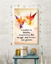 Hummingbird - Laughter is timeless Poster STAR 11x17 Poster lifestyle-holiday-poster-3