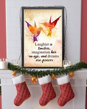Hummingbird - Laughter is timeless Poster STAR 11x17 Poster lifestyle-holiday-poster-4