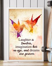 Hummingbird - Laughter is timeless Poster STAR 11x17 Poster lifestyle-poster-4