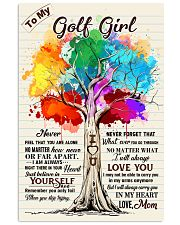 YourSelf - Golf girl 11x17 Poster front