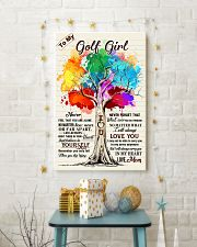 YourSelf - Golf girl 11x17 Poster lifestyle-holiday-poster-3