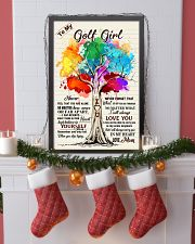 YourSelf - Golf girl 11x17 Poster lifestyle-holiday-poster-4