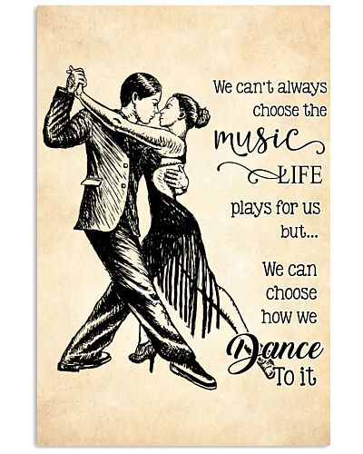 ballroom- we can't always choose the music poster