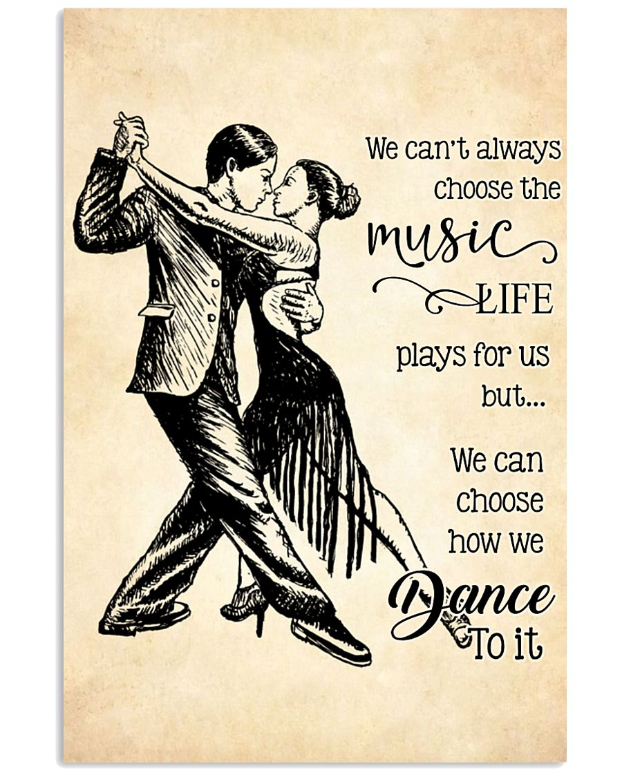 ballroom- we can't always choose the music poster 11x17 Poster