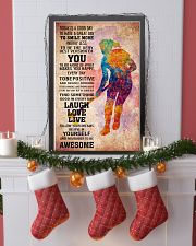 2HOCKEY- TODAY IS A GOOD DAY POSTER 24x36 Poster lifestyle-holiday-poster-4