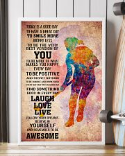2HOCKEY- TODAY IS A GOOD DAY POSTER 24x36 Poster lifestyle-poster-4