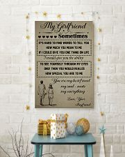 MY GIRL FRIEND SOMETIMES - BOYFRIEND 16x24 Poster lifestyle-holiday-poster-3