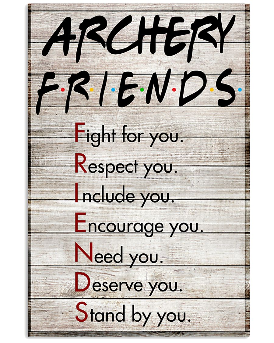 Archery Friends - Poster 11x17 Poster