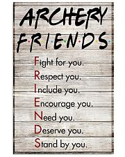 Archery Friends - Poster 11x17 Poster front