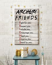 Archery Friends - Poster 11x17 Poster lifestyle-holiday-poster-3
