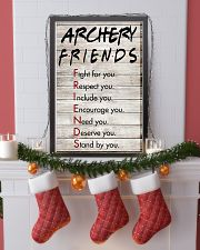 Archery Friends - Poster 11x17 Poster lifestyle-holiday-poster-4