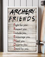 Archery Friends - Poster 11x17 Poster lifestyle-poster-4