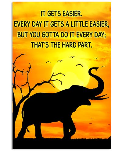 Elephant It Gets Easier Poster