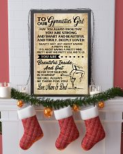 TO MY  Gymnastics Girl - Mum  Dad 16x24 Poster lifestyle-holiday-poster-4