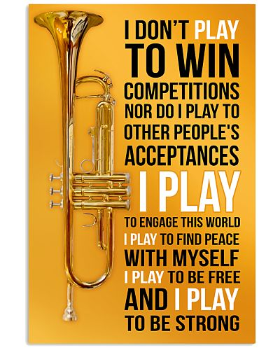 23- TRUMPET - I DON'T PLAY TO WIN COMPETITIONS KD