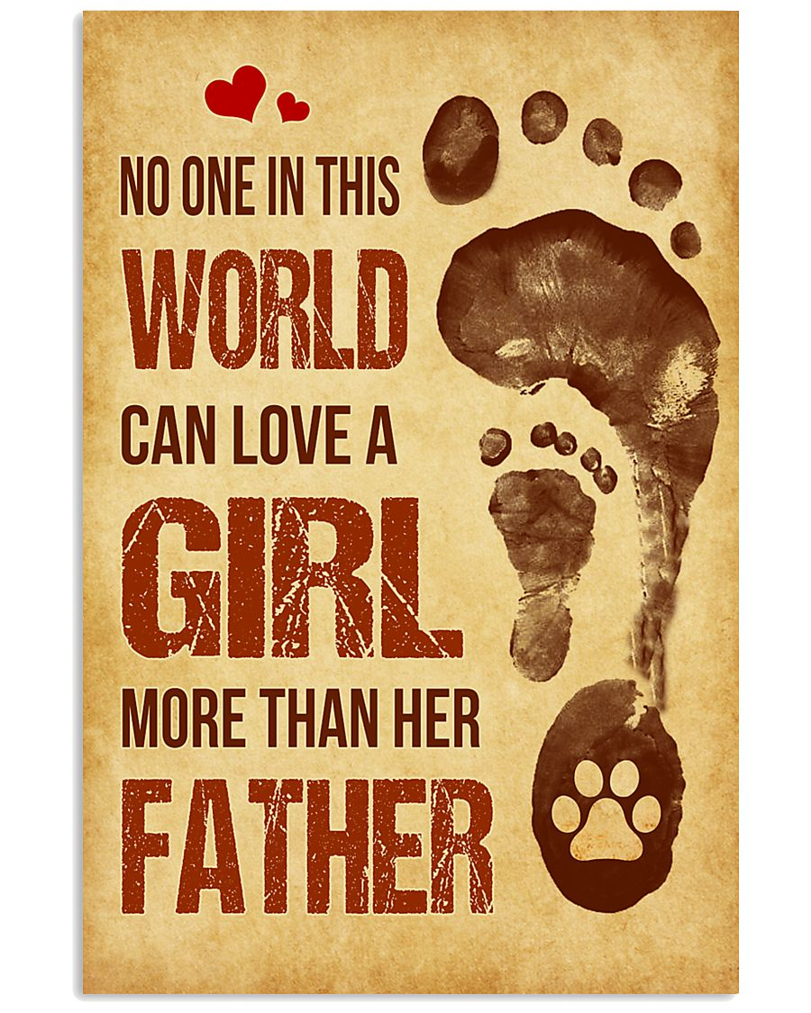 Dog - No one in this world Poster SKY 11x17 Poster