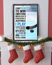 I DON'T PLAY TO WIN COMPETITIONS - ICE HOCKEY 24x36 Poster lifestyle-holiday-poster-4