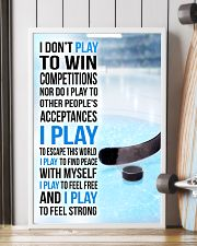 I DON'T PLAY TO WIN COMPETITIONS - ICE HOCKEY 24x36 Poster lifestyle-poster-4