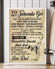 TO MY TAEKWONDO GIRL - DAD 16x24 Poster lifestyle-poster-4